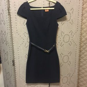 Tory Burch Cap Sleeve Sheath Dress